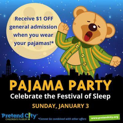 Pretend City Pajama Party - Celebrate the Festival of Sleep