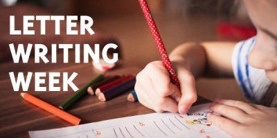 Letter Writing Week