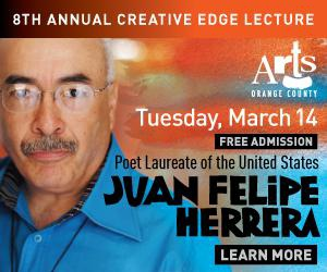 The 8th Annual Creative Edge Lecture with Poet Laureate of the United States Juan Felipe Herrera