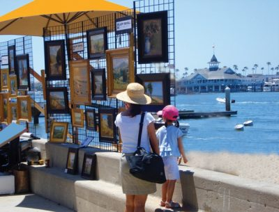 Balboa Island Artwalk