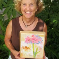 """Garden Muse"" 2-hr. art classes in Laguna Beach"