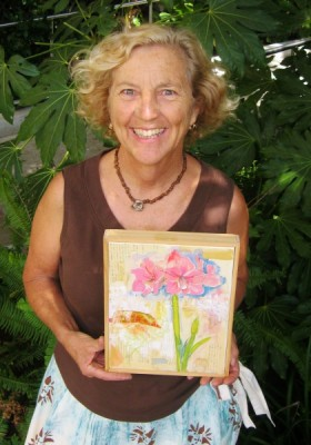 """Garden Muse"" 2-hr. art classes in Laguna Beach"
