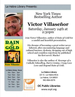 Meet New York Times Bestselling Author: Victor Villaseñor