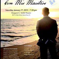 Con Mis Maestros Flamenco Concert