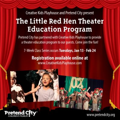 The Little Red Hen Theater Education Class