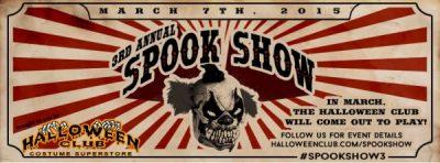 3rd Annual Halloween Club Spook Show & Halloween Fair
