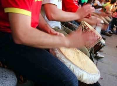 Family Drumming Circle