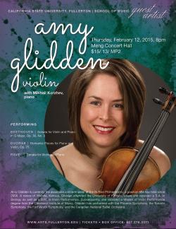 Amy Glidden, violin
