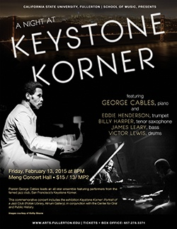 A Night at Keystone Korner featuring George Cables, piano