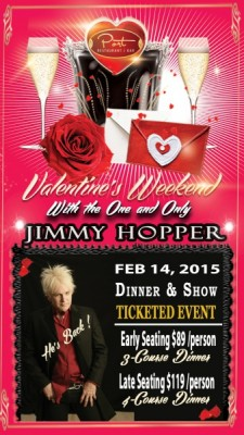 Valentine's Dinner and Show Starring Jimmy Hopper