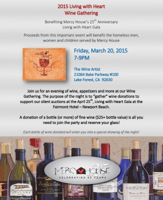 2015 Living with Heart Wine Gathering
