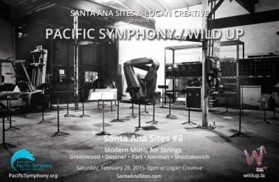 Santa Ana Sites #8: Pacific Symphony/ wild Up