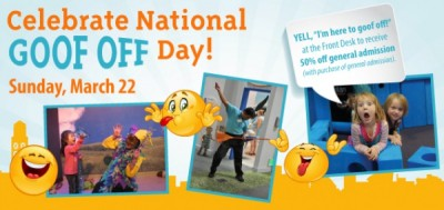 Celebrate National Goof Off Day!
