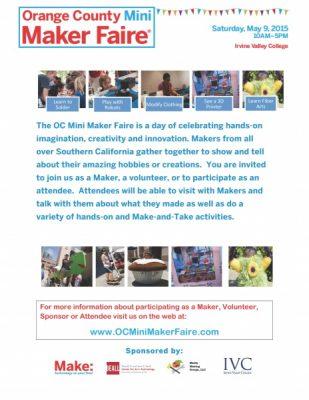 OC Mini Maker Faire