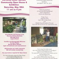 Annual Hortense Miller Garden Open House and Painting Exhibition