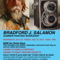 Bradford J. Salamon Summer Painting Workshop