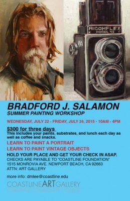 Bradford J. Salamon Summer Painting Workshop