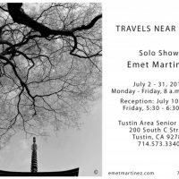 Travels Near and Far - Solo Show - Emet Martinez