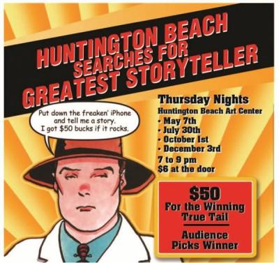 Huntington Beach Searches for the Greatest Storyteller