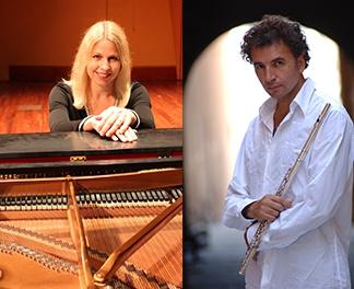 Jean Ferrandis, flute & Alison Edwards, piano