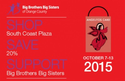 Angelitos Card Fundraiser at South Coast Plaza to Benefit Big Brothers Big Sisters of Orange County