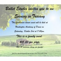 An Evening in Tuscany Dinner Fundraiser