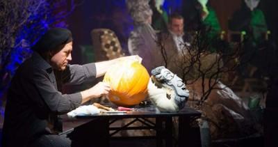 Original Pumpkin Design Demonstration with Joseph Yakovetic
