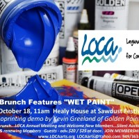 LOCA Brunch features WET PAINT in Laguna Beach