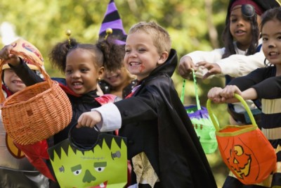 Trick-Or-Treat Through the City