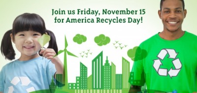 Celebrate America Recycles Day