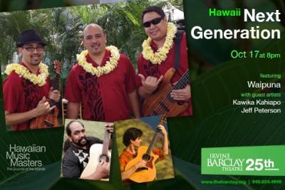 Hawaii Next Generation featuring Waipuna
