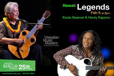 Hawaii Legends - Keola Beamer & Henry Kapono