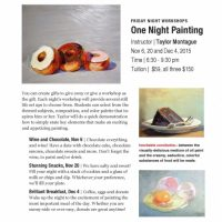 One Night Oil Painting Workshop