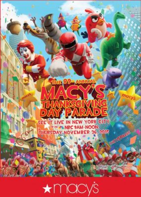 The 89th Annual Macy's Thanksgiving Day Parade!