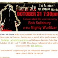 NOSFERATU Silent Horror with Bob Salisbury at the Wurlitzer