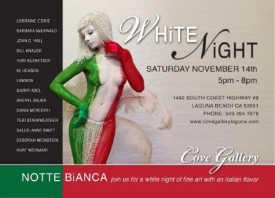 Notte Bianca - A night of fine art with an Italian flavor at the Cove Gallery