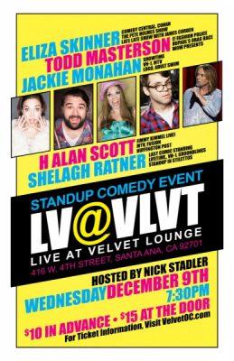 LV@VLVT - Live Comedy at Velvet Lounge