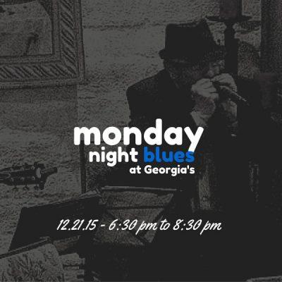 Monday Night Blues at Georgia's