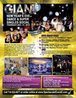 Giant New Year's Eve