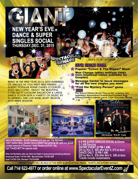 giant new years eve sparkoccom the happening place for arts happenings in the oc