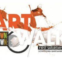 Downtown Santa Ana First Saturday Artwalk