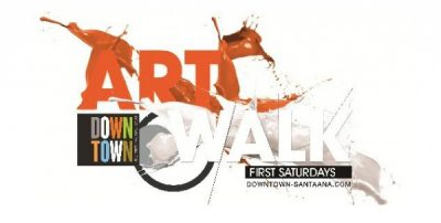 Downtown Santa Ana First Saturday Artwalk