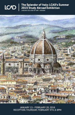 LCAD The Splendor of Italy First Thursday Artwalk Reception