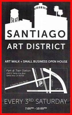 Santiago Art Walk & Small Business Open House