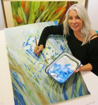 Learn to Watercolor - classes Jan-Apr. Laguna Beach