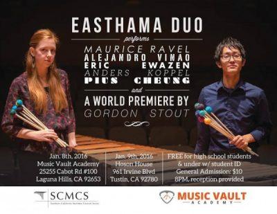 Southern California Marimba Series: Easthama Duo
