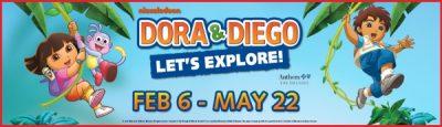 Dora & Diego – Let's Explore! Exhibit at Discovery Cube Orange County