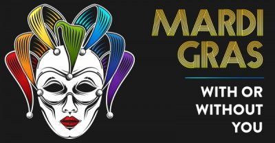 Mardi Gras - With or Without You feat. L.A. Vation and The Who Generation