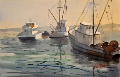 Gallery Opening Reception: National Watercolor Society Invitational Plein Air Painting Exhibition