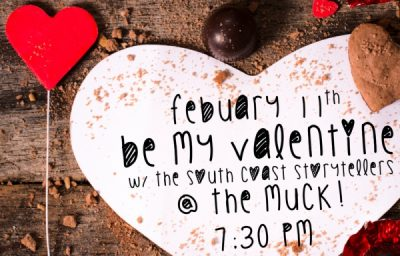 A Night of Romance in the Gallery: South Coast Storytellers